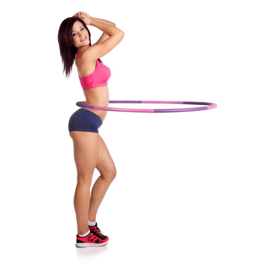 Gymnastický kruh - Obruč inSPORTline Weight Hoop 100 cm
