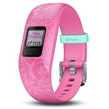 """Růžový fitness náramek VivoFit Junior 2, """"Disney Princess"""", Garmin"""