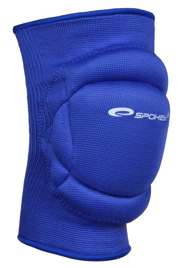 Modré volejbalové chrániče na kolena Spokey - velikost S
