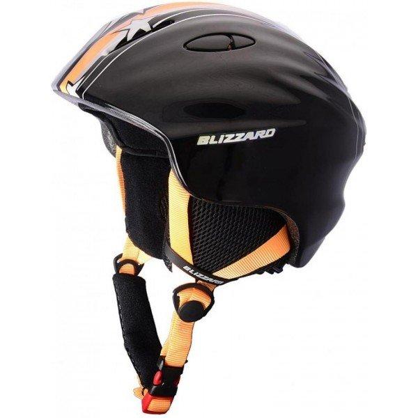 Černá dětská lyžařská helma Blizzard - velikost 48-52 cm