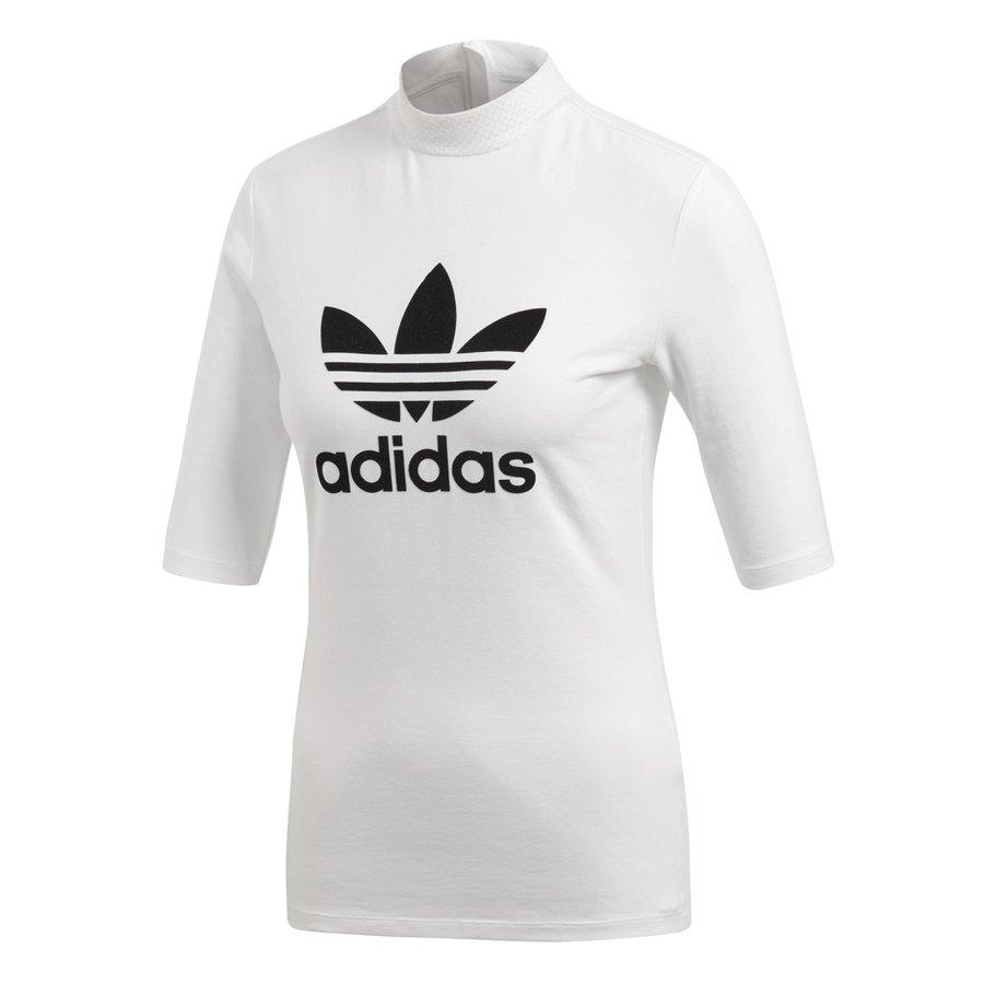 Bílé dámské tričko s krátkým rukávem Adidas