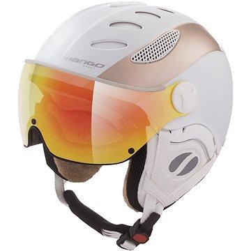 Bílá dámská lyžařská helma Mango - velikost 58-60 cm
