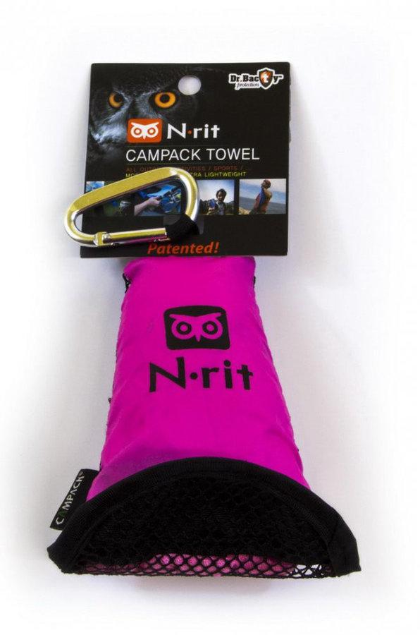 Ručník - Ručník N-Rit Campack Towel L Barva: růžová