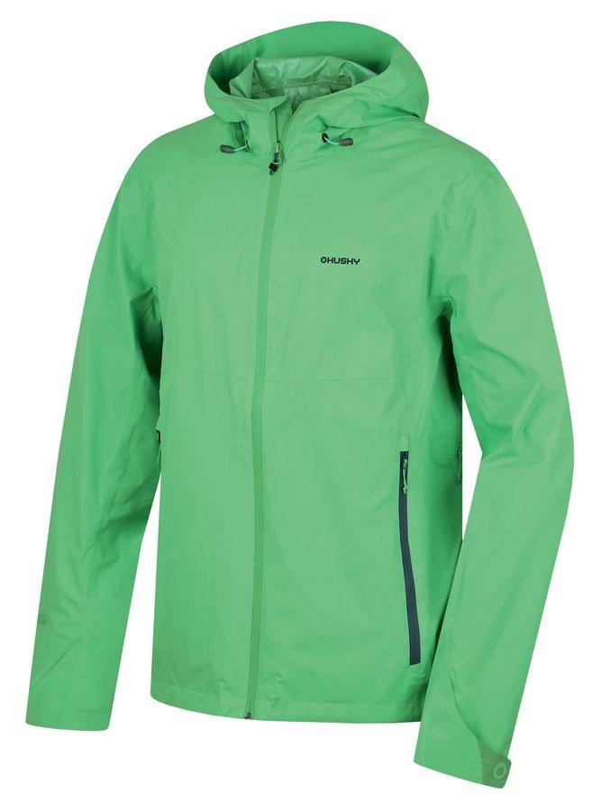 Zelená pánská bunda Husky
