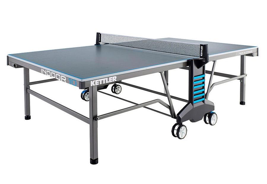 Modro-šedý vnitřní stůl na stolní tenis INDOOR 10, Kettler