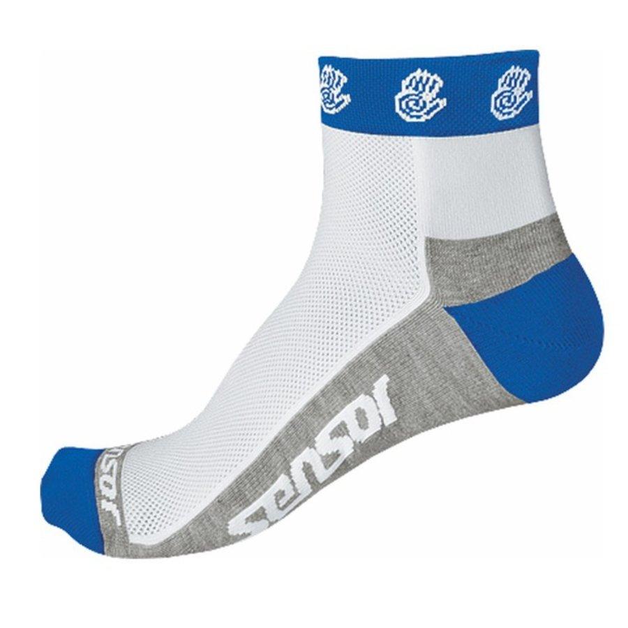 Modré pánské cyklistické ponožky Sensor - velikost 35-38 EU