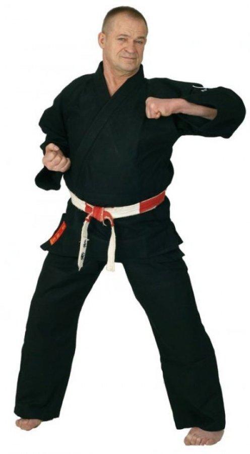 Černé kimono na judo Hayashi - velikost 160