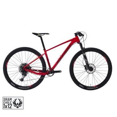Červené horské kolo XC 500, RockRider
