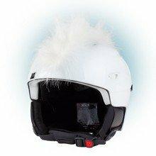 Lyžařská helma - Teplo-uši UŠI číro bílá Varianta: univerzální