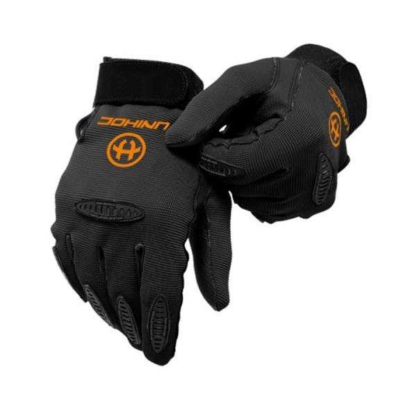 Černé brankářské florbalové rukavice Unihoc