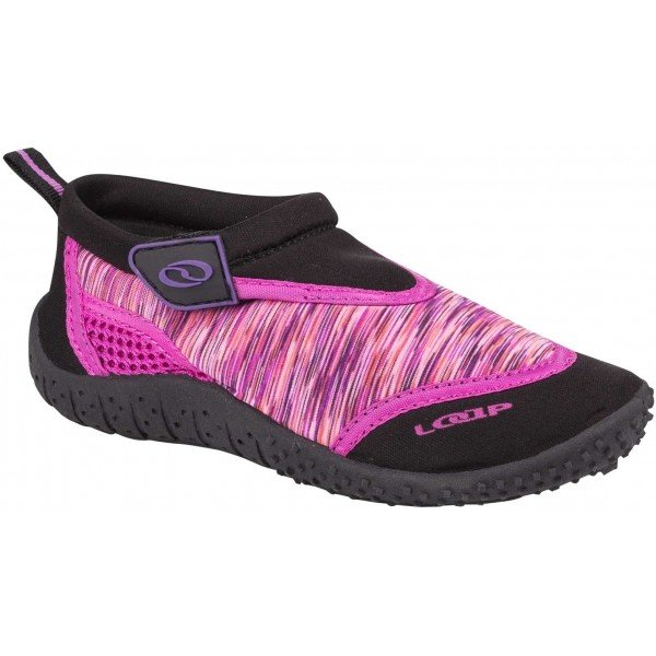Růžové dívčí boty do vody Loap