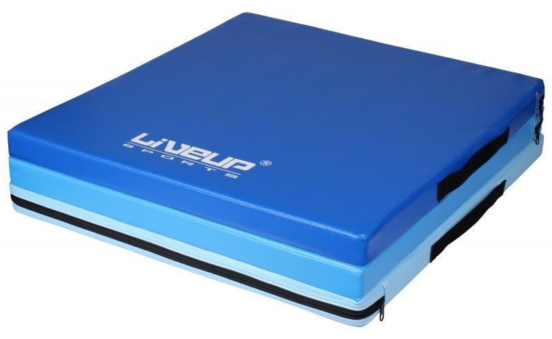 Žíněnka - Gipfel Crash-Mat skládací gymnastická žíněnka - modrá