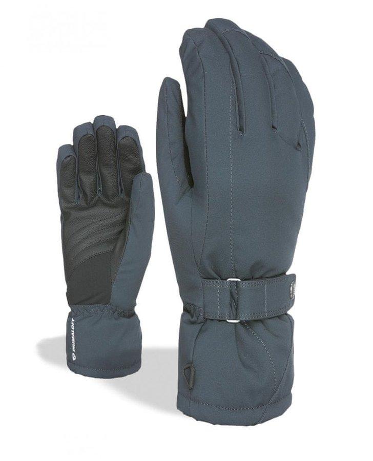 Modré dámské snowboardové rukavice Level - velikost S-M
