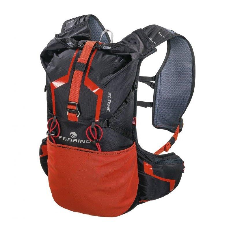 Černo-červený běžecký batoh Dry Run, Ferrino - objem 12 l