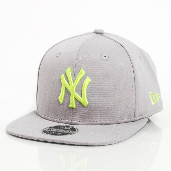 Kšiltovka - Kšiltovka New Era 9Fifty Jersey Pop NY Yankees Grey - S/M
