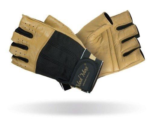 Černo-hnědé fitness rukavice Mad Max
