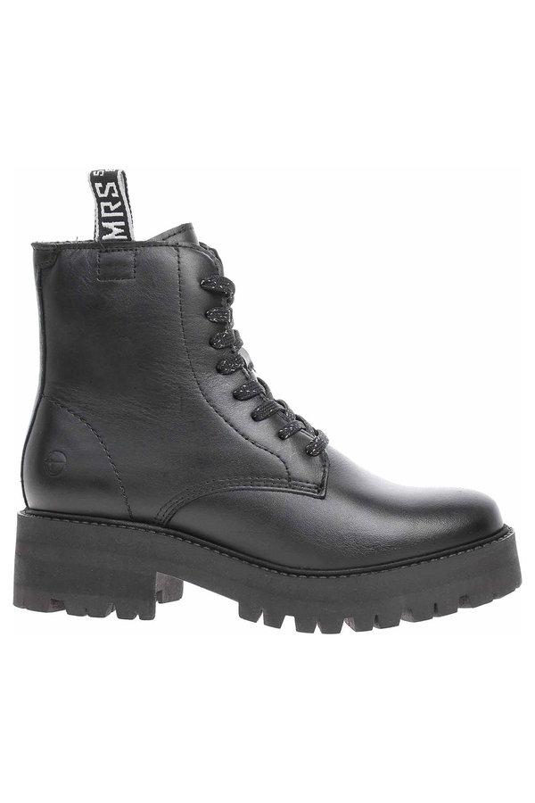 Černé dámské zimní boty Tamaris - velikost 37 EU