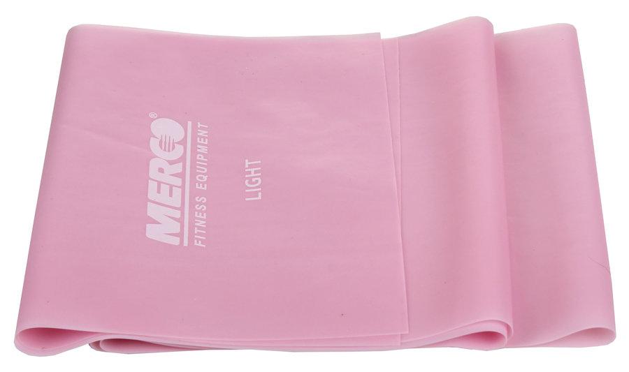 Posilovací guma - Merco Aerobic Band posilovací guma růžová