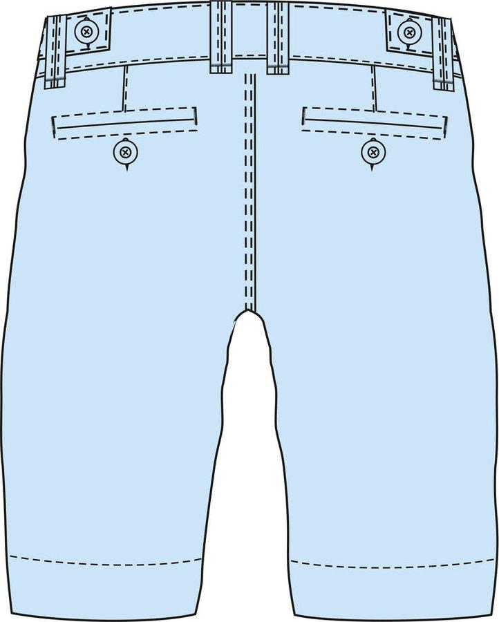 Bílé pánské kraťasy Loap - velikost L