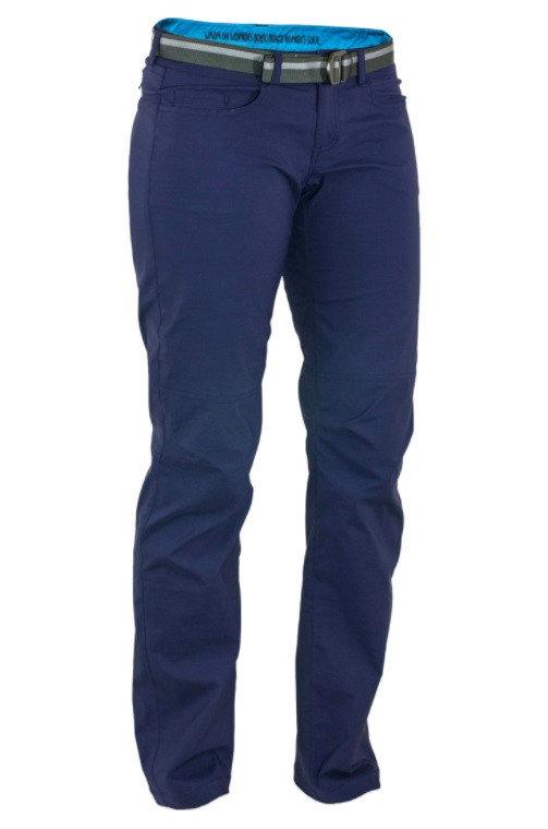 Modré dámské kalhoty Warmpeace