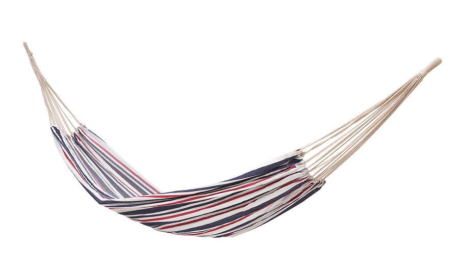 Různobarevná houpací síť pro 1 osobu Economy1, Hamaka