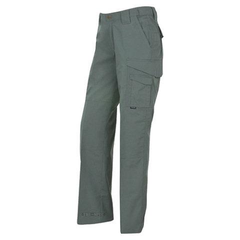 Kalhoty - Kalhoty dámské 24-7 TACTICAL rip-stop ZELENÉ
