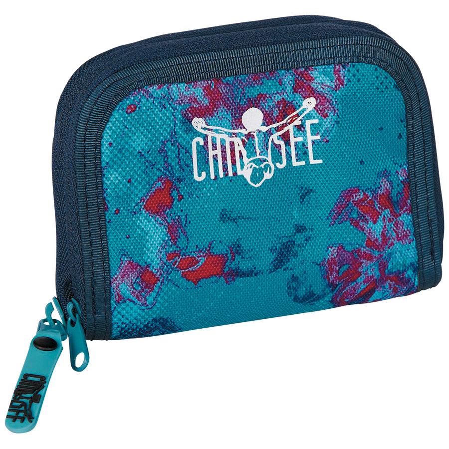 Peněženka - Chiemsee Twin zip wallet W16 Dusty flowers