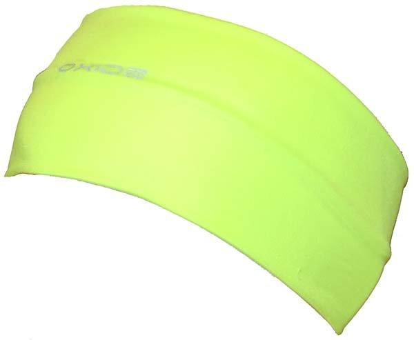 Žlutá běžecká pánská nebo dámská čelenka Oxide - univerzální velikost