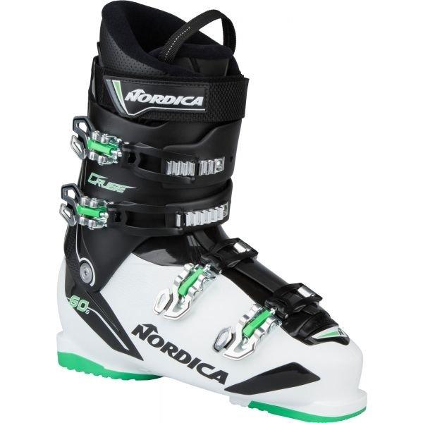 Bílo-černé pánské lyžařské boty Nordica