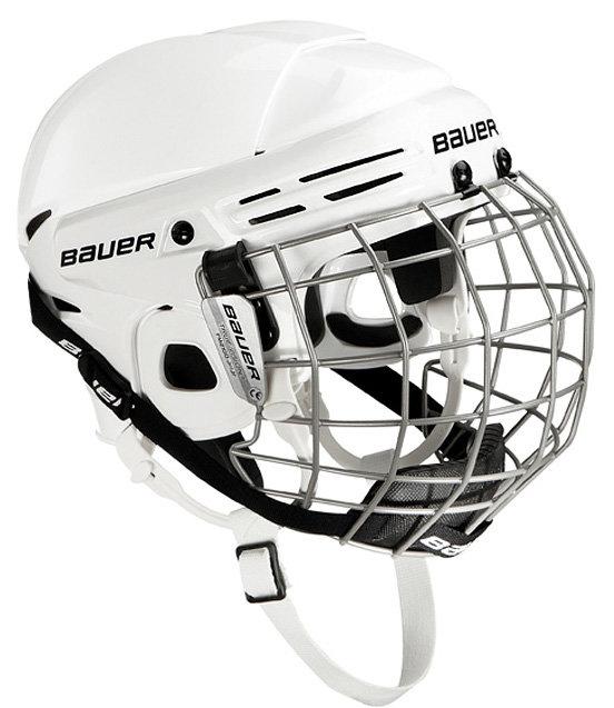 Hokejová helma - Combo Bauer 2100 Junior Barva: červená (RED)