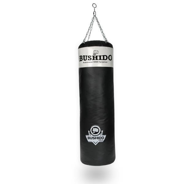 Bílo-černý boxovací pytel BUSHIDO