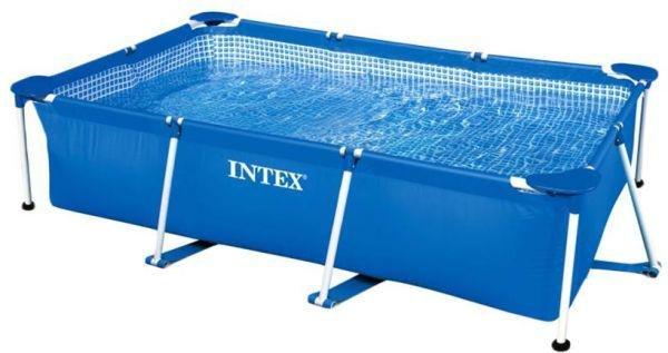 Nadzemní obdélníkový bazén INTEX - délka 260 cm, šířka 160 cm a výška 65 cm