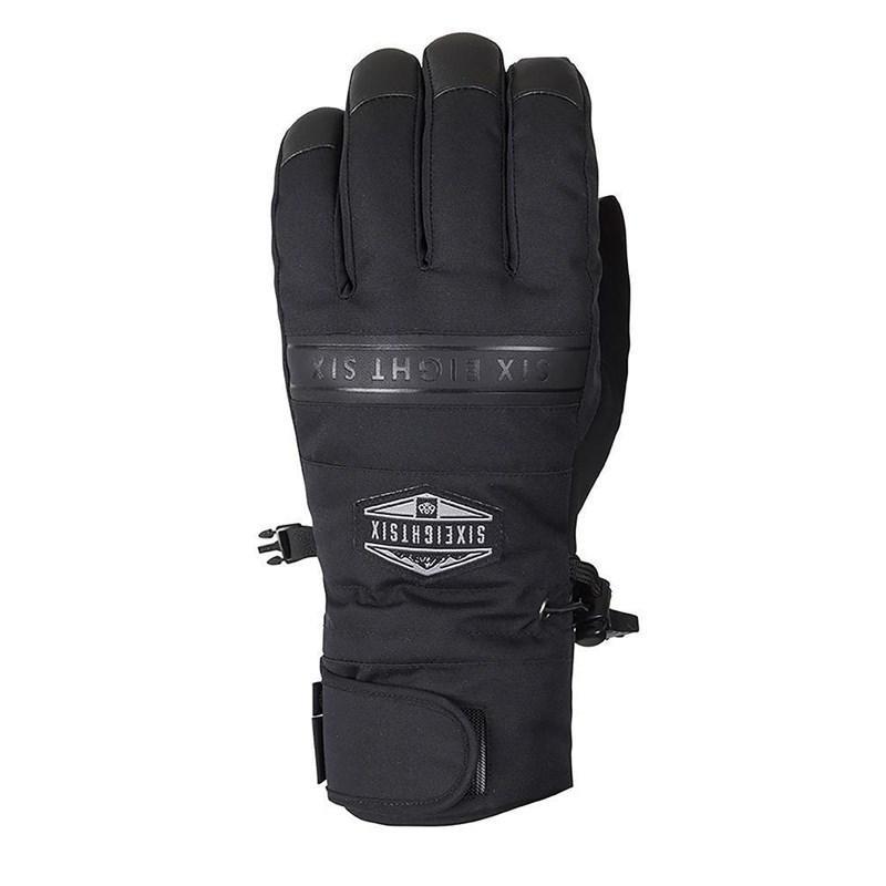 Černé pánské lyžařské rukavice 686 - velikost L