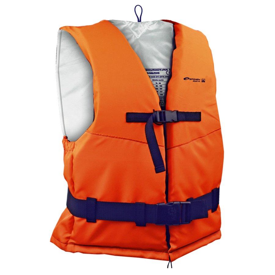 Oranžová záchranná vesta Spokey
