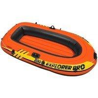 Oranžový nafukovací člun pro 2 osoby Explorer, INTEX