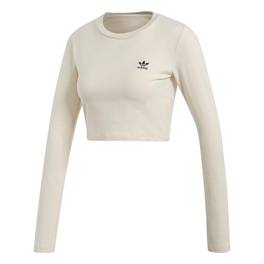 Béžové dámské tričko Adidas - velikost 34