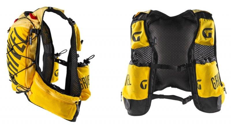 Žlutý běžecký batoh MOUNTAIN RUNNER, Grivel - objem 5 l