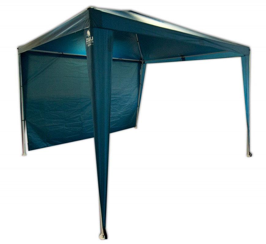 Modrý párty stan Zulu - délka 3 m a šířka 3 m