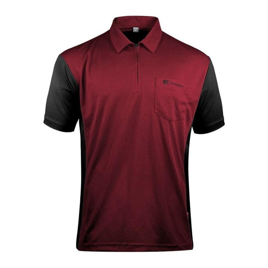 Černo-červený šipkařský dres Target Darts