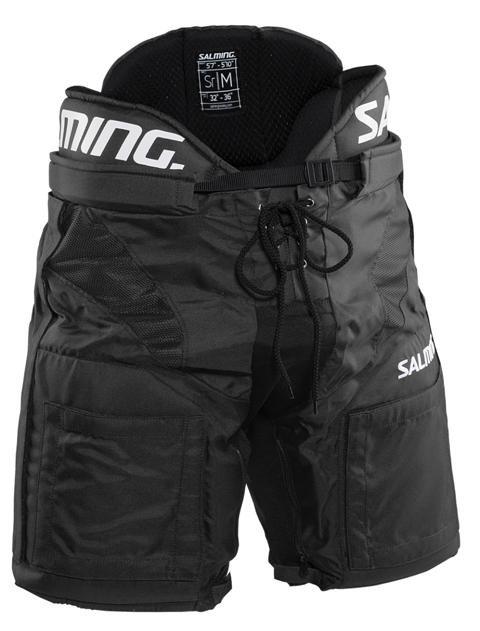 Černé hokejové kalhoty - senior Salming - velikost L
