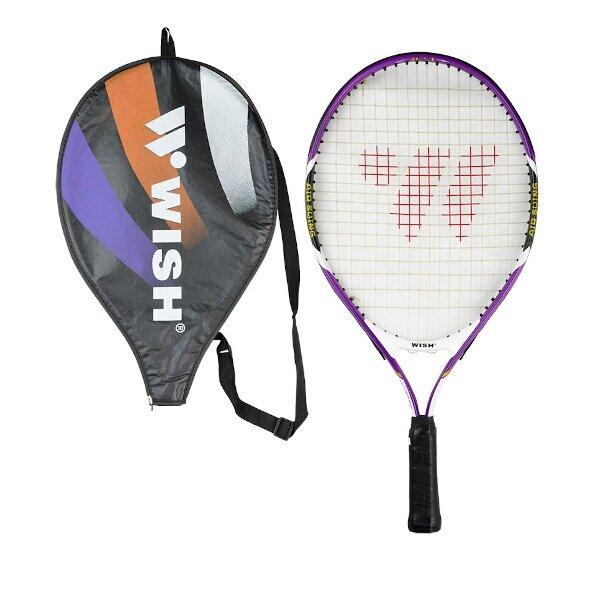 Fialová tenisová raketa 2600, Wish - délka 58,4 cm