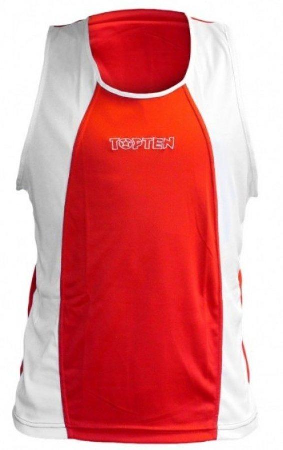 Červené boxerské tílko Top Ten - velikost XXL