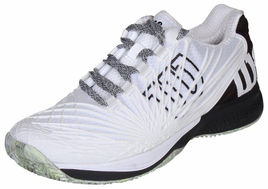 Bílá pánská tenisová obuv Kaos 2.0 Clay Court, Wilson - velikost 41 EU