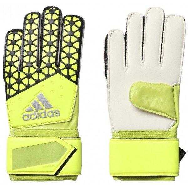 Černo-žluté pánské brankářské fotbalové rukavice Adidas