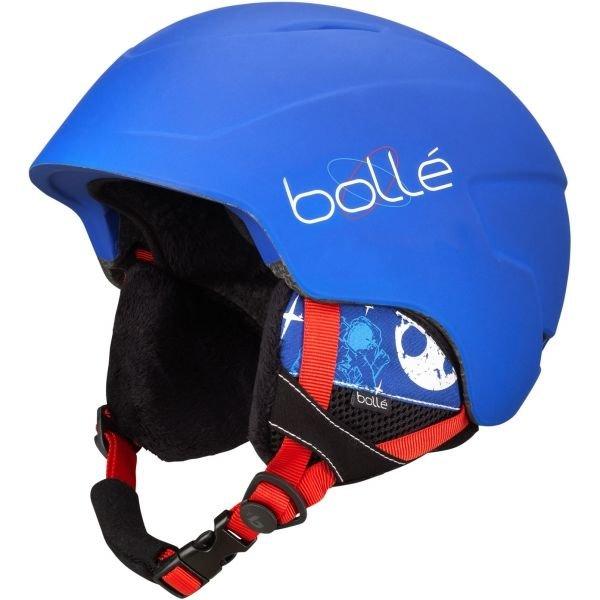 Modrá dětská lyžařská helma Bollé - velikost 53-58 cm
