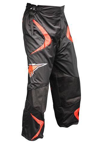 Černé kalhoty na in-line hokej (senior) Mission - velikost XL