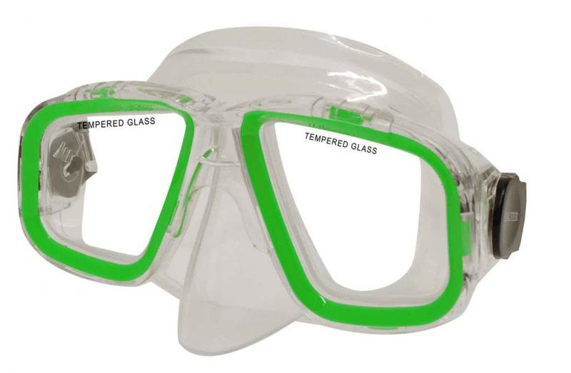 Potápěčská maska - Potápěčská maska CALTER SENIOR 229P, zelená