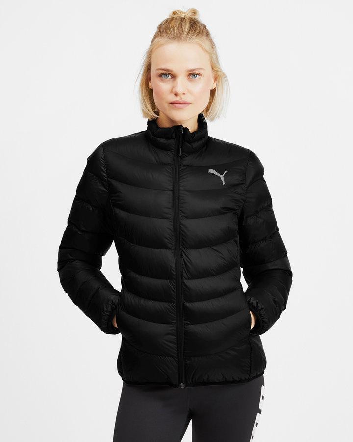 Černá zimní prošívaná dámská bunda Puma - velikost S
