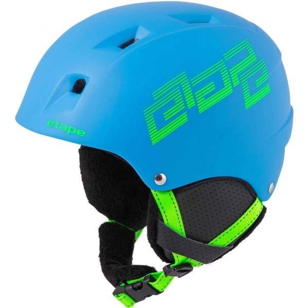 Modrá dětská lyžařská helma Etape