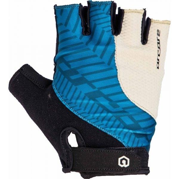 Černo-modré cyklistické rukavice Arcore - velikost XL